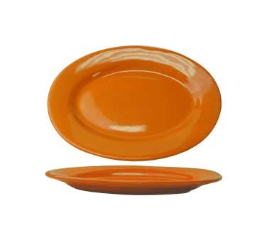 International Tableware CA-12-O - Cancun Platter, Orange (Sold 2 Dozen/Case)