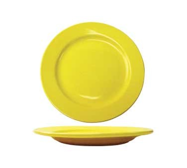 International Tableware CA-16-Y - Cancun 10-1/2 in. Plate, Yellow (Case of 12)