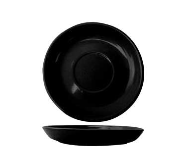 International Tableware CAN-2-B - Cancun 5-1/2 in. Saucer, Black (Case of 3 Dozen)