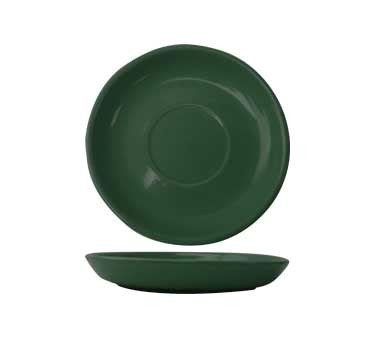 International Tableware CA-36-G - Cancun 4-7/8 in. A.D. Saucer. Green (Case of 36)