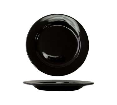 International Tableware CA-6-B - Cancun 6-1/2 in. Plate, Black (Case of 36)