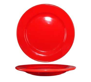 International Tableware CA-8-CR - Cancun 9 in. Plate, Red (Case of 24)