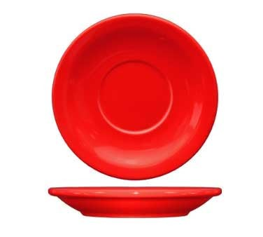 International Tableware CAN-2-CR - Cancun 5-1/2 in. Saucer, Red (Case of 36)