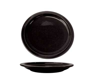 International Tableware CAN-8-B - Cancun 9 in. Plate, Black (Case of 24)