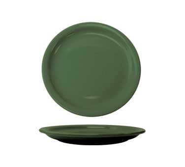 International Tableware CAN-9-G - Cancun 9-1/2 in. Plate, Green (Case of 24)