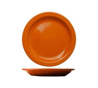 International Tableware CAN-9-O - Cancun 9-1/2 in. Plate, Orange (Case of 24)