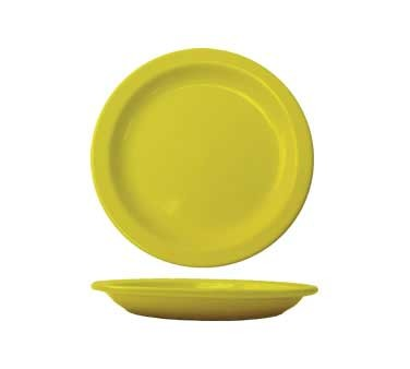 International Tableware CAN-9-Y - Cancun 9-1/2 in. Plate, Yellow (Case of 24)