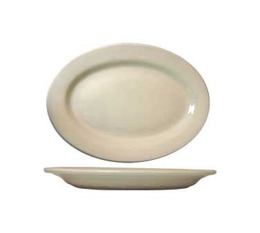 International Tableware RO-12 - 10-3/8 in. Platter, American White (Case of 24)