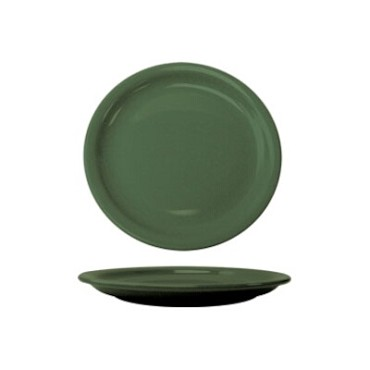 International Tableware CAN-16-G - Cancun 10-1/2 in. Plate, Green (Case of 12)