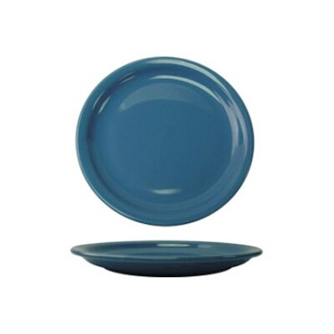 International Tableware CAN-7-LB - Cancun 7-1/4 in. Plate, Light Blue (Case of 36)