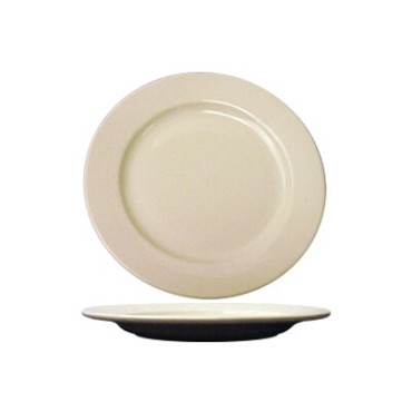 International Tableware RO-16 - 10-1/4 in. Plate, American White (Case of 12)
