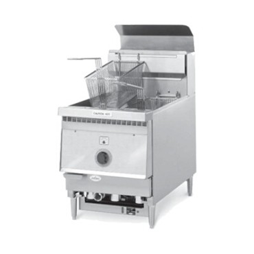 "Keating 10X11CMG - Fryer, Gas, counter model, 10"" x 11"", 26 lb. fat cap., Instant"