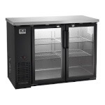 Kelvinator / Electrolux KCBB48GB - Back Bar Refrigerator, Two Glass Doors