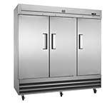Kelvinator KCBM72FS-HC - Reach-In Freezer, 72 cu.ft., three section