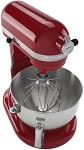 KitchenAid KP26M1XER - Engine Red 6 Qt. Professional 600 Series w/ Pouring Shield