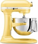 KitchenAid KP26M1XMY - Majestic Yellow 6 Qt. Professional 600 Series w/ Pouring Shield