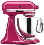 KitchenAid KSM150PSCB - 5 qt. Tilt-Head Stand Mixer, Cranberry