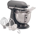 KitchenAid KSM150PSGR - 5 qt. Tilt-Head Stand Mixer, Imperial Gray