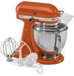 KitchenAid KSM150PSPN - 5 qt. Tilt-Head Stand Mixer, Persimmon