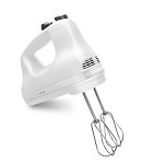 KitchenAid KHM512WH KitchenAid- 5-Speed Ultra Power Hand Mixer, White