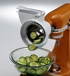 (Discontinued) RVSA KitchenAid - Optional rotor slicer with shredder accessory for stand mixers.