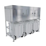 Kloppenberg SPS-3 - Shuttle Plus Ice Storage Bin, 2,000 lb. Capacity