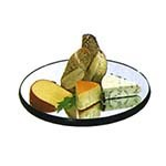 Lakeside 261 - Mirror Tray, round, 28in. diameter, rimless, 1/4in. plate glass with wood b