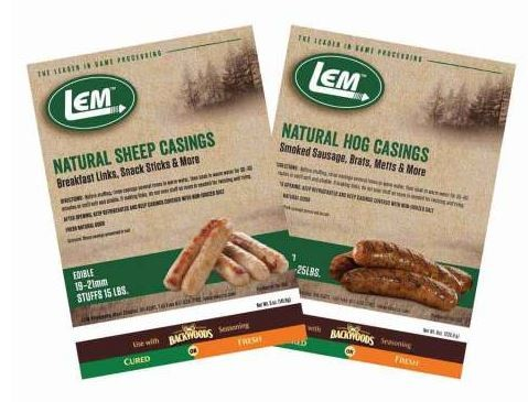 LEM 243 - CASING- NATURAL- SHEEP- 5OZ BAG., 6 per Case