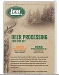 LEM 752 - Deer Processing DVD Set I & II