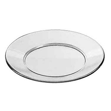 "Libbey 15427 - Glass Salad & Dessert Plate, 8"" (Case of 36)"