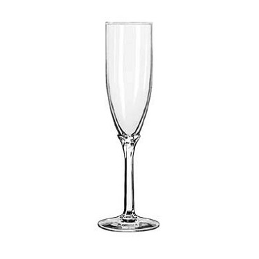 Libbey 8995 - Domaine Champagne Flute Glass, 6 oz. (Case of 12)