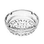 Libbey 5154 - Nob Hill Clear Glass Ash Tray, 4 In. Diameter (Case of 36)