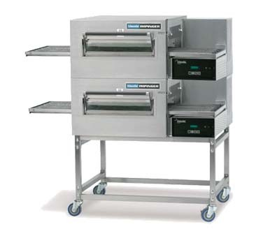 Lincoln 1180-FB2G - Impinger II Express Oven Package, gas, double stack, F