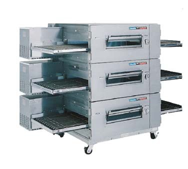 Lincoln 1600-3G - Impinger Low Profile Oven Package, gas, triple stack, i