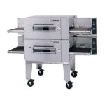 Lincoln 1600-2G - Impinger Low Profile Oven Package, gas, double stack, i