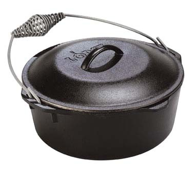 Lodge L8DO3 - Logic Dutch Oven w/Spiral Handle, 5 qt.