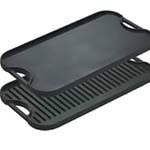 Lodge LPGI3 - Logic Cast Iron Reversible Iron Griddle, 20 x 10 7/16 in.