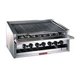 MagiKitch'n APM-RMB-624 - Countertop Charbroiler, gas, 24 inch, stainless steel radiants
