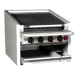 MagiKitch'n CM-RMB-624 - Countertop Charbroiler, gas, 24 inch, stainless steel radiants