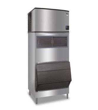 Manitowoc IDF0300A/F1650 - Indigo Cube Ice Machine with Bin