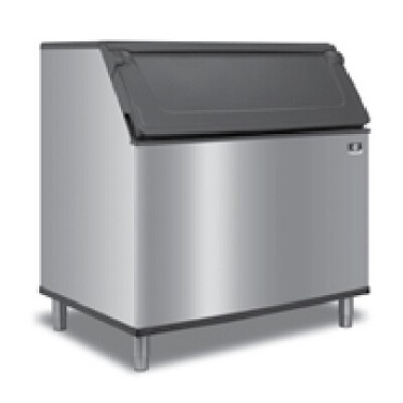 "Manitowoc D970  Ice Bin, 48""W x 34""D, 50""H, with sidehinged door, 882 lb"