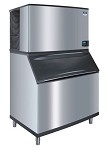 Manitowoc IDT0450A/D400 - Indigo Cube Ice Machine with Bin, Air Cooled