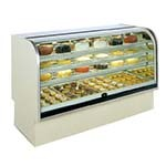 Marc Refrigeration BCD-48 - Non-Refrigerated Bakery Case, Curved Glass