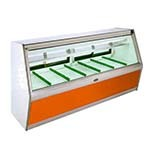 Marc Refrigeration BDL-4R - Butcher Case, Triple Pane Glass Front, Remote