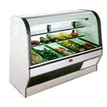 Marc Refrigeration HS-4 S/C - Meat/Deli Case, Curved Glass Front