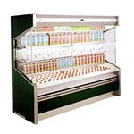 Marc Refrigeration OD-10R - Open Dairy Case with 4 Shelves, Remote