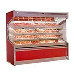 Marc Refrigeration OM-10R - Open Air Meat Case with 3 Shelves, Remote