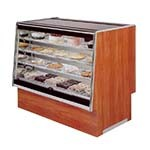 Marc Refrigeration SQBCD-48 - Non-Refrigerated Bakery Case, Flat Glass