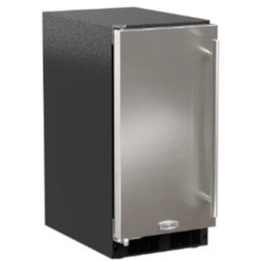 "Marvel MA15CLS2LS - 15"" ADA Ice Machine, Gravity Drain, Solid Stainless Door, Left Hinge"