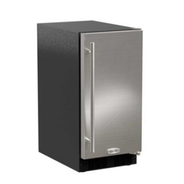 "Marvel MA15CLS2RS - 15"" ADA Ice Machine, Gravity Drain, Solid Stainless Door, Right Hinge"
